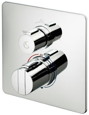 Ideal Standard Easybox Slim thermostatic shower valve + diverter A5880AA